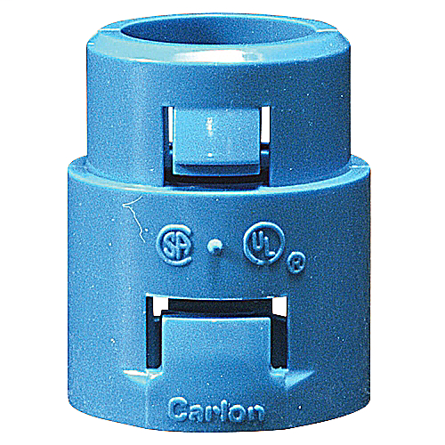CARLON A253F 1-IN PVC ENT SNAP-IN TERMINATION MALE ADAPTER