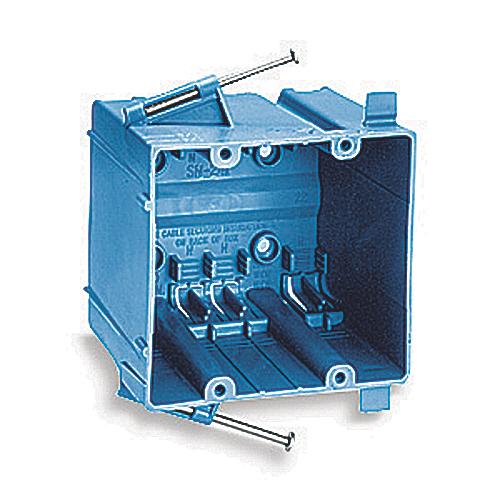 Carlon SN-241 2-Gang 3 Inch Thermoplastic Electrical Box