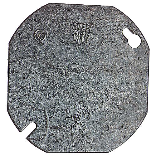 "STC 54C1 4"" RND FLAT BLANK COVER"