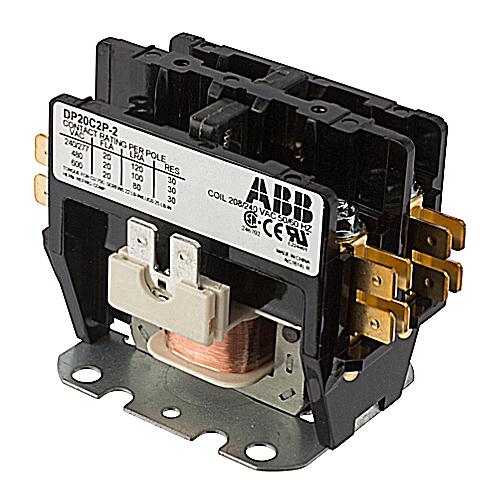 ABB DP20C2P-2 DP CONTR, 20A,2P,208/
