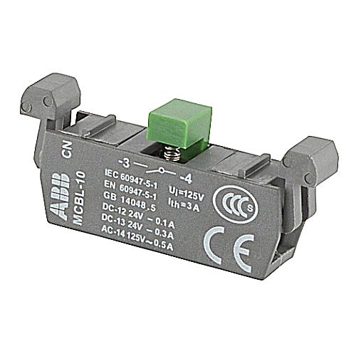 ABB MCBL-10 MICRO BLOCK 1NO