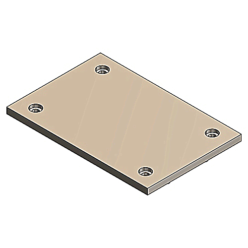 STL-CTY P-64-P-BP-BGE BLANK COVER*NON-RETURNABLE TO MANUFACTURER*