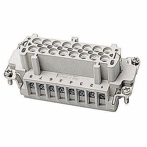 Pos-E-Kon,FS116B,FEM SCR TERM INSERT FOR B-SER 16CNT
