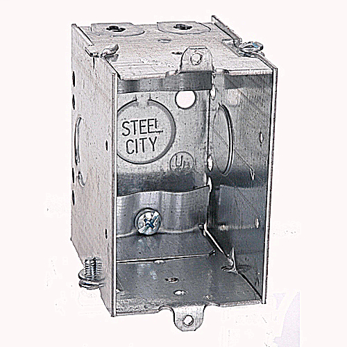 STL-CTY CWNLE 2-3/4D NMC SW BOX*NON-RETURNABLE TO MANUFACTURER*