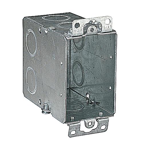 Steel City CY-1/2 18cu.in Gangable Steel Old Work Switch Box