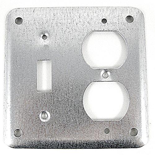 BOWERS 471-NEC 1/8D SW&DPLXRCPT CVR*NON-RETURNABLE TO MANUFACTURER*