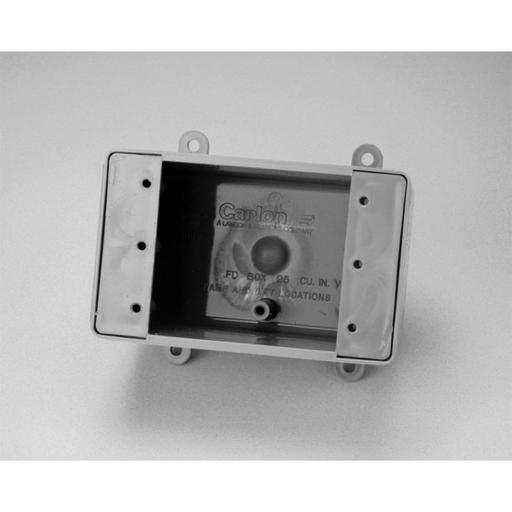CAR E9801 1G BLANK FS BOX W/MNT