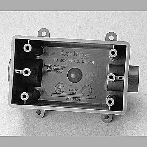 PVC FDC012 1/2 DEEP BOX FSCD050710