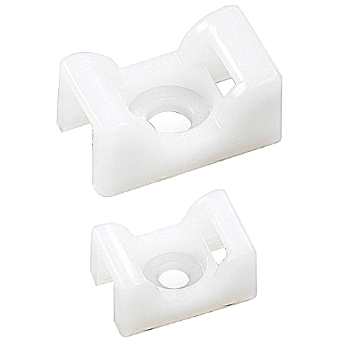 Ty-Rap TC5142 0.6 x 0.9 Inch Cable Tie Saddle Support Mounting Base