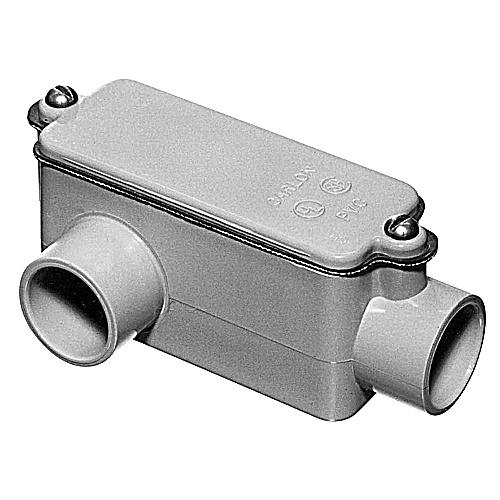 New Carlon E988G 1-1//4 inch Type E PVC Conduit Body