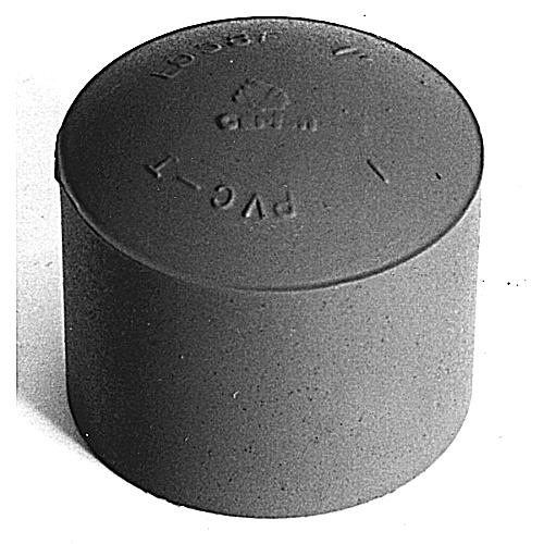 CL E958H PIPE END CAP 1-1/2 IN PVC