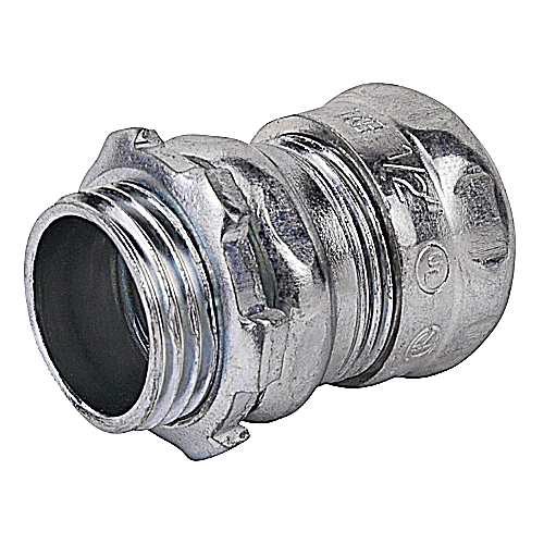 """Steel City TC112A 3/4"""" EMT Compression Connector - Non-Insulated"""