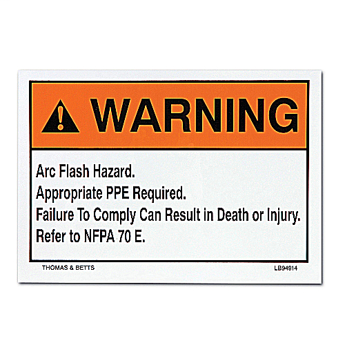 Mayer-Safety Labels - LB94913-1