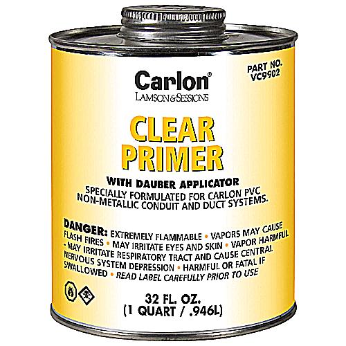 CAR VC9902 QUART CLEAR PRIMER W/DAUBER