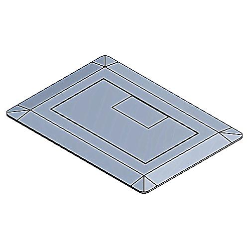 Multi-Gang Rectangular Floor Boxes & Covers - E9761S