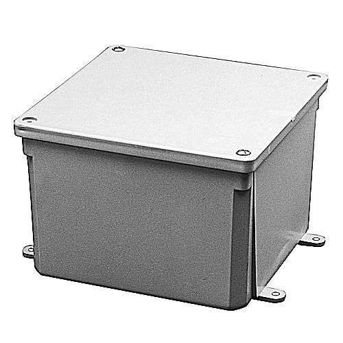 PVC JB666 6X6X6 JUNCT BOX E989RRR