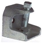 Steel City 500-SC 1/4-20 Tapped Malleable Iron Beam Clamp