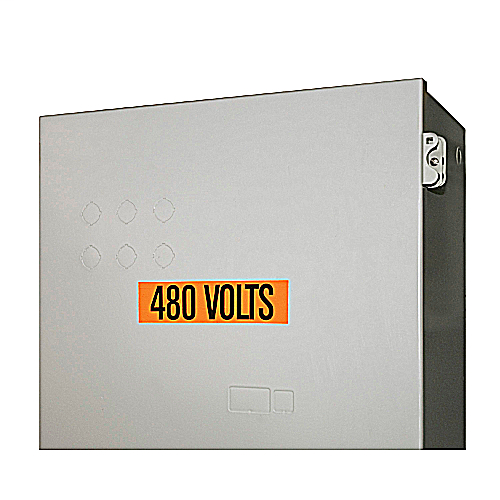 Conduit and Voltage Marker Cards - Vinyl