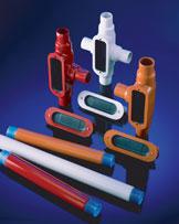 OCAL T18-G 1/2 PVC CTD T COND BODY
