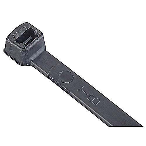 Ty-Fast,TY125-40X,CABLE TIE 40LB 5.5IN UV BLACK NYLON