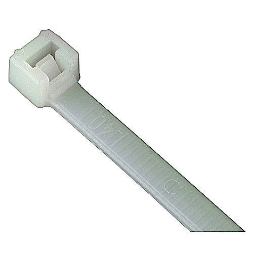 Ty-Fast,TY125-18,CABLE TIE 18LB 5IN NATURAL NYLON