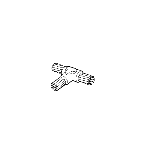 BB CC2-4-2/02/0 CABLE TO CABLE TTEE