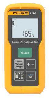 Fluke 414D Laser Distance Meter - 50M/165Ft Max