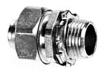 Appleton ST-50 1/2 Straight Liquid-Tight Connector, Non-Insulated, Steel