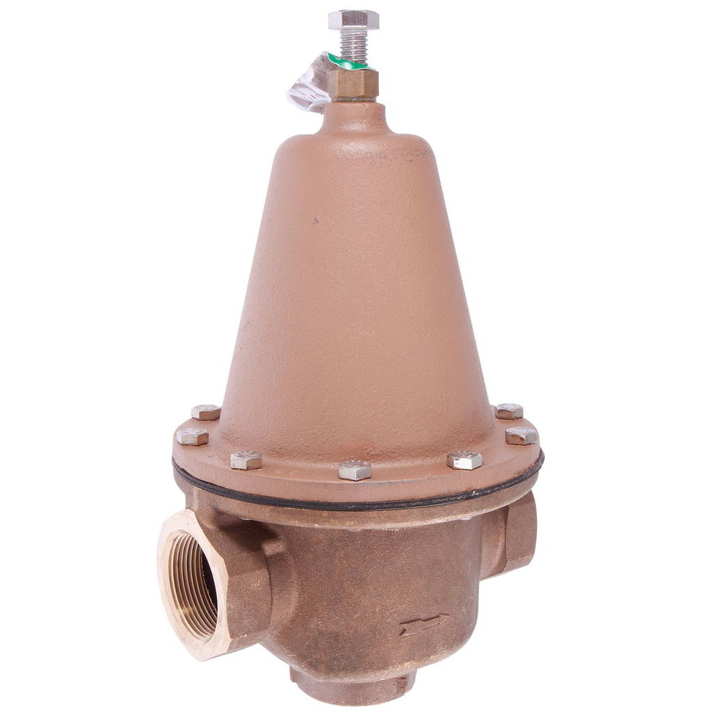 1 In Lead Free Brass High Capacity Water Pressure Reducing Valve, Fnpt