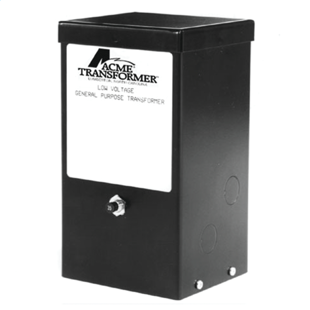Low Voltage Lighting Transformer - Single Phase, 120 - 12V, 100VA