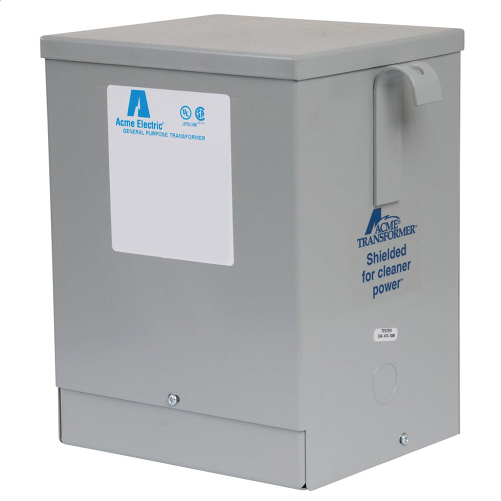 Buck-Boost Transformer - Single Phase, 240 X 480 - 24/48V, 3kVA