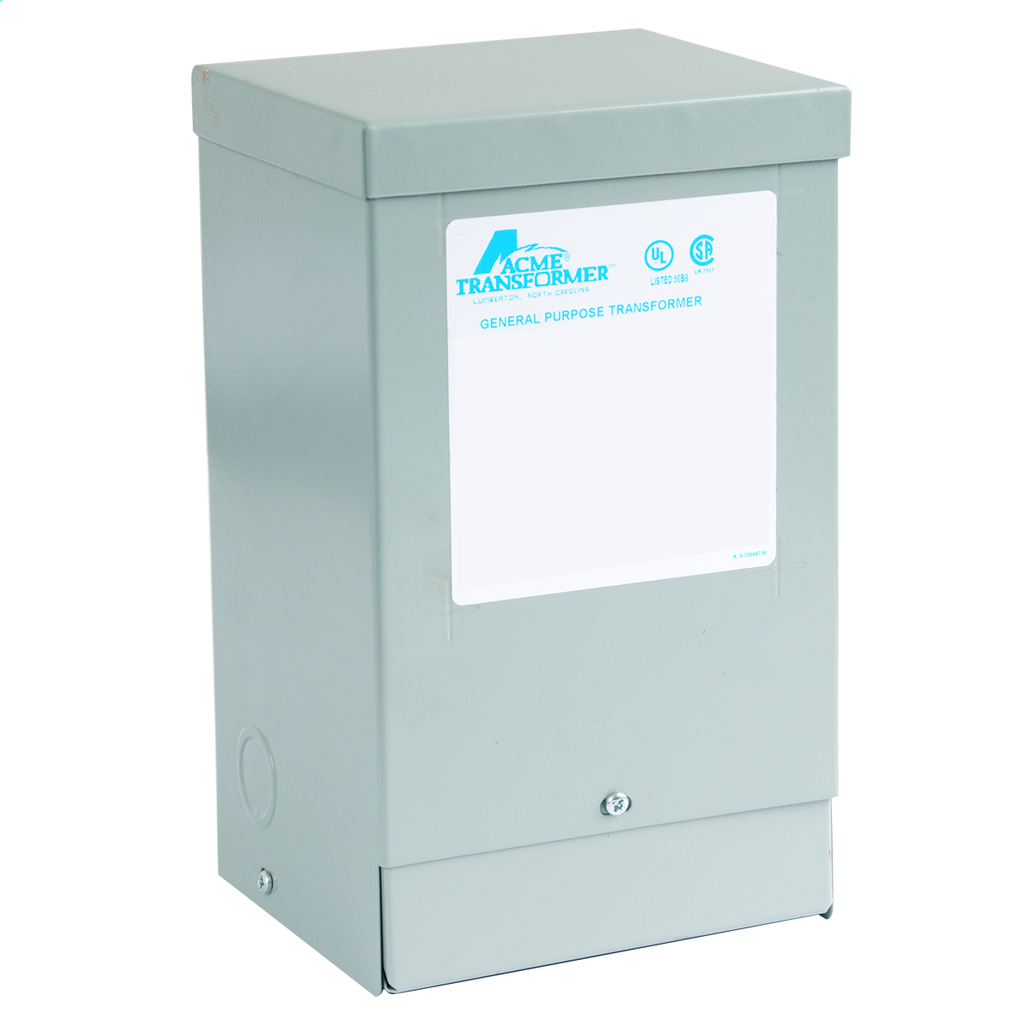 Buck-Boost Transformer - Single Phase, 240 X 480 - 24/48V, 1.5kVA