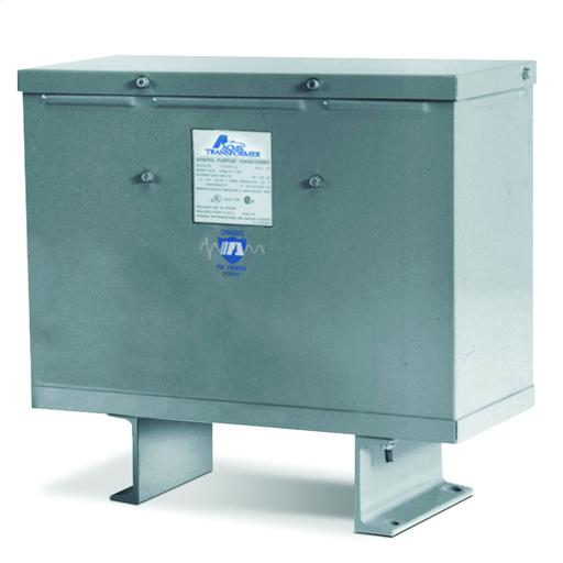 Low Voltage Distribution Transformer - Three Phase, 600/480 - 480/380V, 75/60kVA, Autotransformer