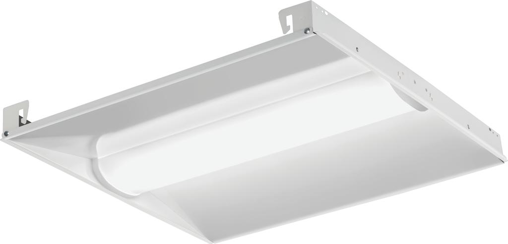 Lithonia Lighting BLC 2X2 3300LM 35K Center-Basket LED Troffer