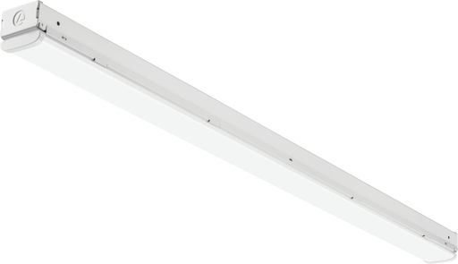 Mayer-4-Foot CSS Switchable Color Temperature LED Single Strip Light with Adjustable Light Output Switch, Multi-Volt 120-277V, White-1
