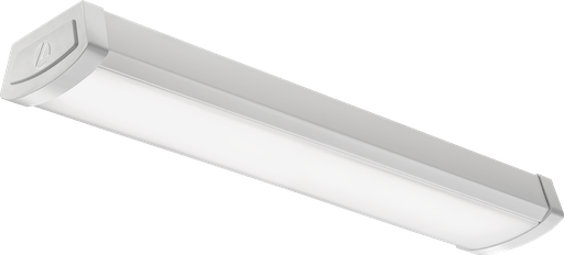 Mayer-FMLWL 4-Foot 120 Volt Linear Flush Mount 4000K Cool White LED Wraparound, 2,900 Lumens, 0-10 Volt Dimming, White-1