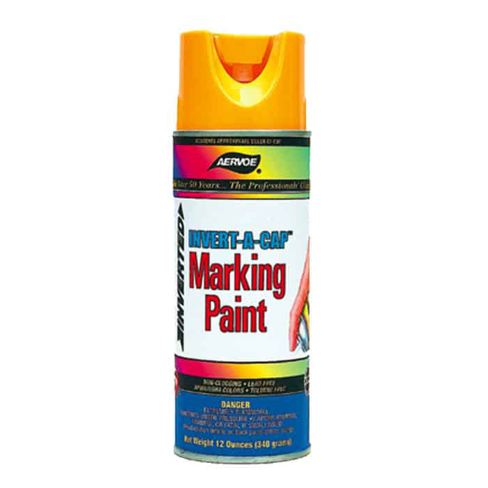 AERVOE 267 WHITE INVERTED TIP SPRAY PAINT 12oz CAN