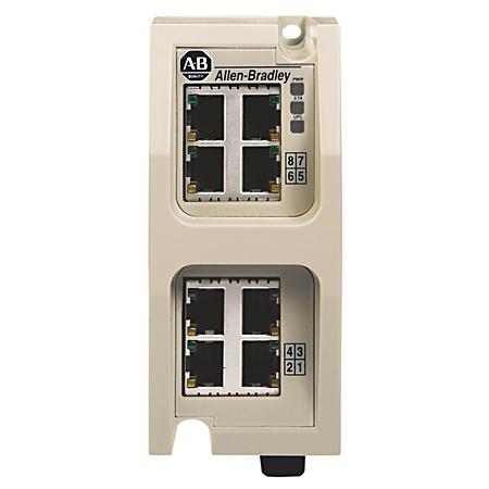 AB 1783-EMS08T Stratix 6000 Switch, Entry-Level Managed, 8-port