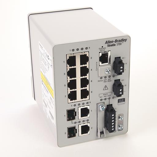 AB 1783-BMS10CGP Stratix 5700 10 port managed switch