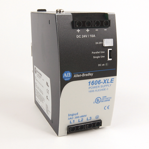 AB 1606-XLE240E Essential Power Supply, 24-28V DC, 240 W, 120/240V AC Input Voltage