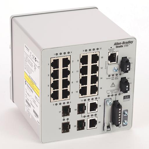 AB 1783-BMS20CA Stratix 5700 20 port managed Switch