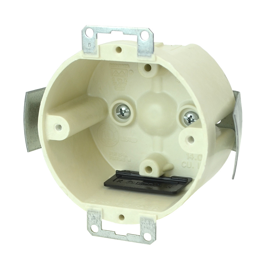 Allied Moulded Products 9338-ESK 3.50 x 2.00 Inch 14.0 Inch  Ears Snap Bracket Speed Clamp Round Fixture Outlet