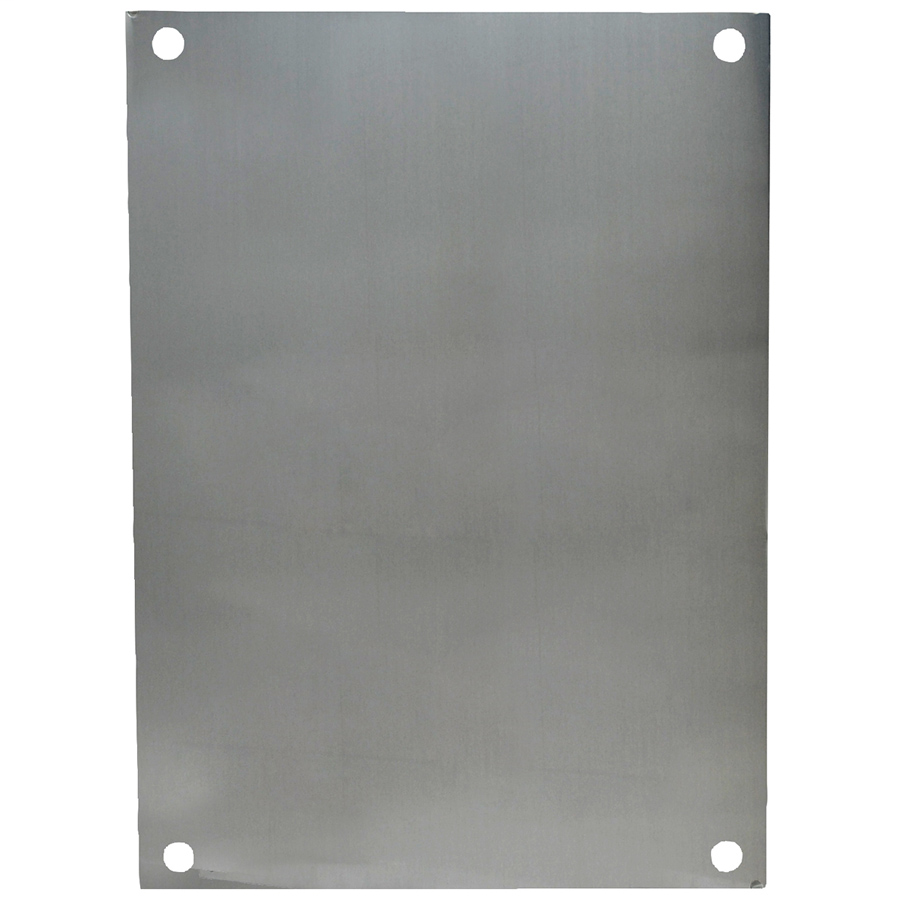 Allied Moulded Products PA108 Aluminum Back Panel
