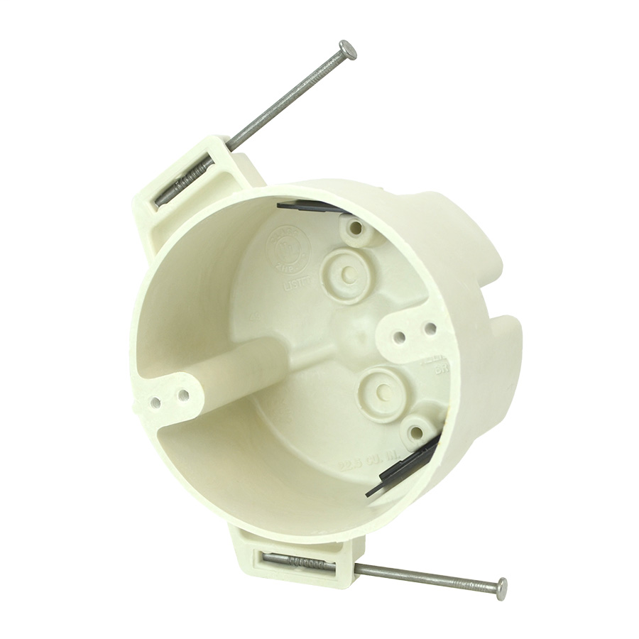 "4"" Dia. Round Fixture Support Box"