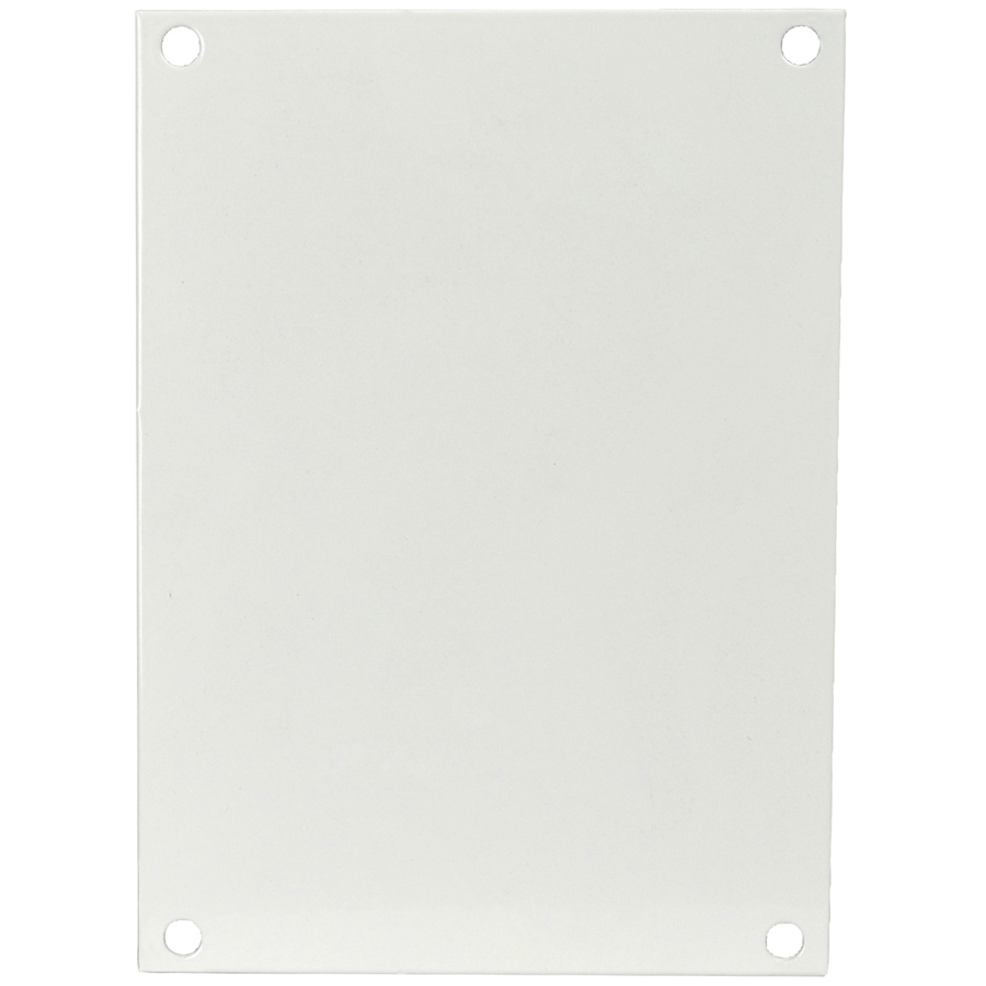Allied Moulded Products P108 8.75 x 6.88 x 8.25 x 6.25 Inch Steel Back Panel Kit