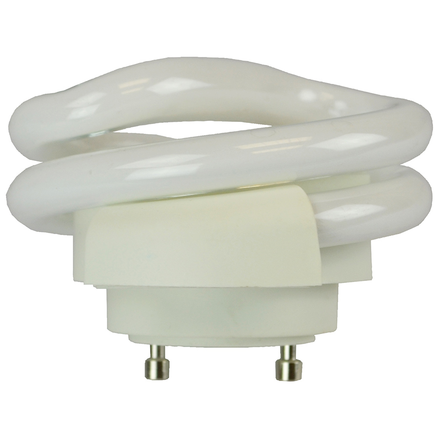 GU24 two pin replacement compact fluorescent lamp