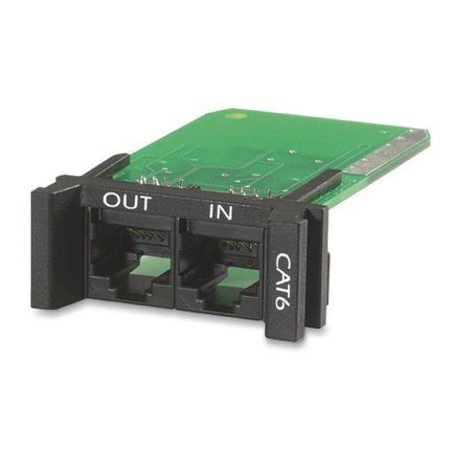 APC Surge Module for CAT6 or CAT5/5e Network Line, Replaceable, 1U, use with PRM4 or PRM24 Chassis PNETR6