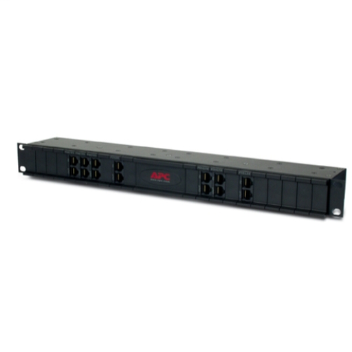 "APC 24 position chassis for replaceable data line surge protection modules, 19"" rackmount, 1U PRM24"