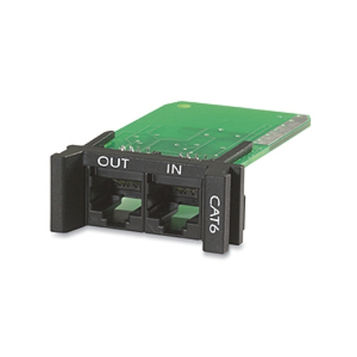 Mayer-APC Surge Module for CAT6 or CAT5/5e Network Line, Replaceable, 1U, use with PRM4 or PRM24 Chassis PNETR6-1