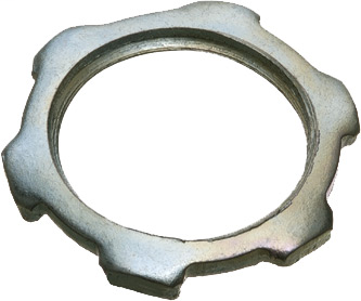 "ARL 406 2"" STEEL LOCKNUT"